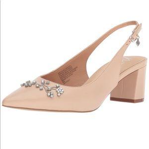 Nanette Lepore slingback block heels size 7